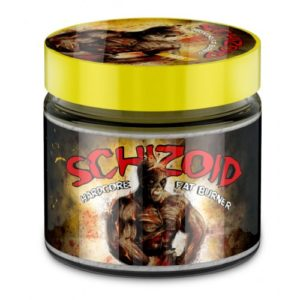 Zombi Lab SHISOID Hardcore fat burner 150 TABS
