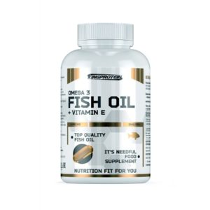 King Protein FISH OIL + VITAMINE E 90 гелевых капсул