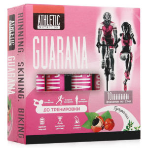 """ATHLETIC NUTRITION"" GUARANA (10 фл. х 25 мл)"